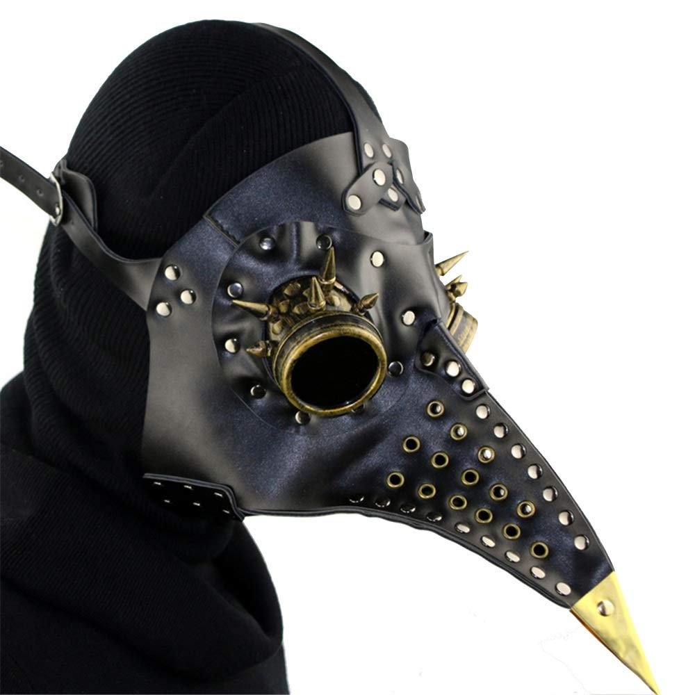 ventas en línea de venta FLy FLy FLy Steampunk Plague Beak Mask Halloween Props Regalo Máscara  minorista de fitness