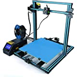 The Updated hot Sale Creality CR-10S5 3D Printer Metal Frame High Resolution Stable Single extrude Large Size 500×500×500 high Precision Update Dual Z Rod Lead Screws and Filament Monitoring Alarm