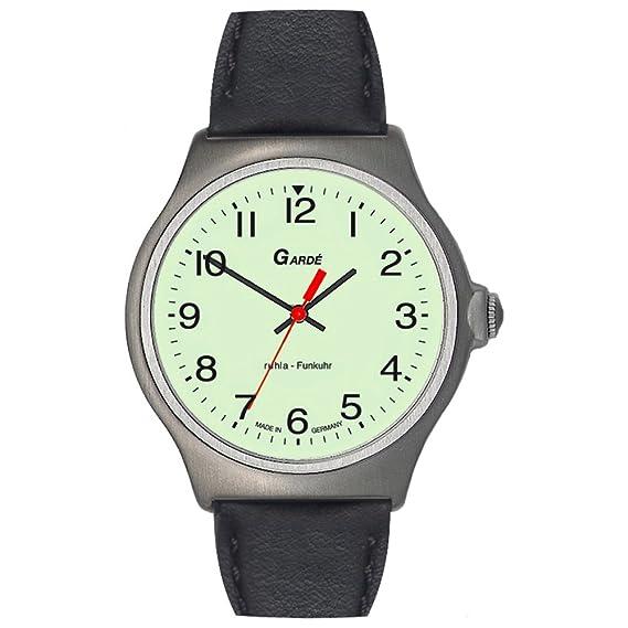 Gardé Radio 23-76 Reloj radiocontrolado para hombres Legibilidad Excelente: Amazon.es: Relojes