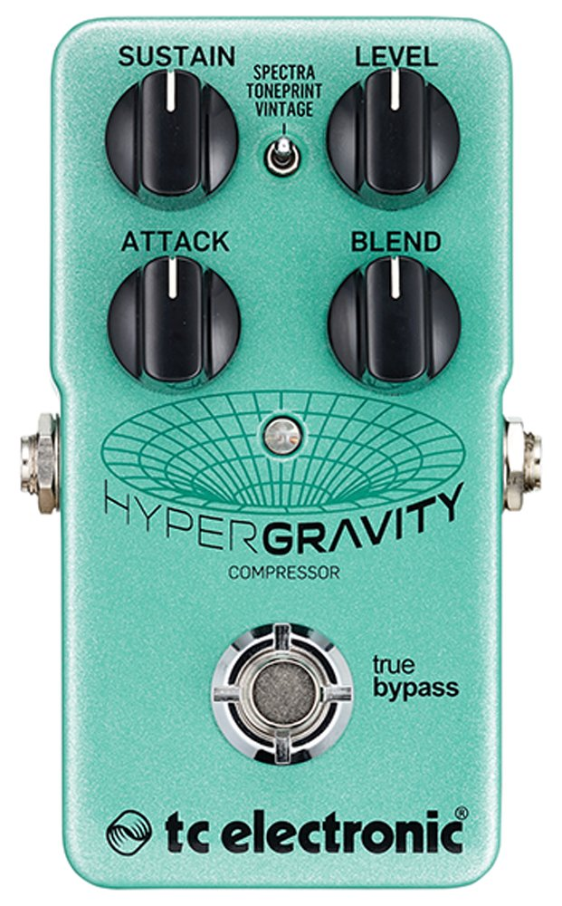 product image of teal-colored hyper gravity compressor