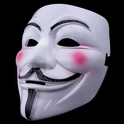 Amazon Com Kuteck V Vendetta Mask Guy Fawkes Halloween Costumes