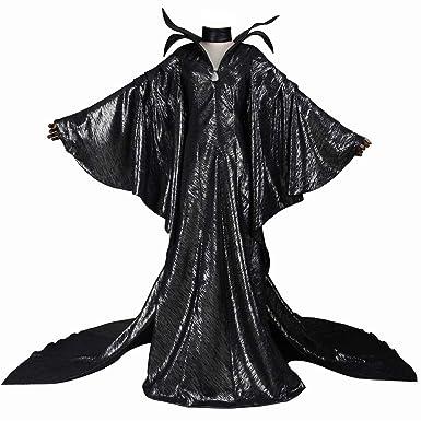 coskey Maléfica Disfraz de Reina Malvada para Mujer, Disfraz de ...