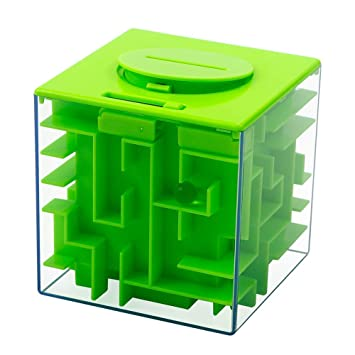 Amazon.com: geefia dinero laberinto caja, soporte de dinero ...