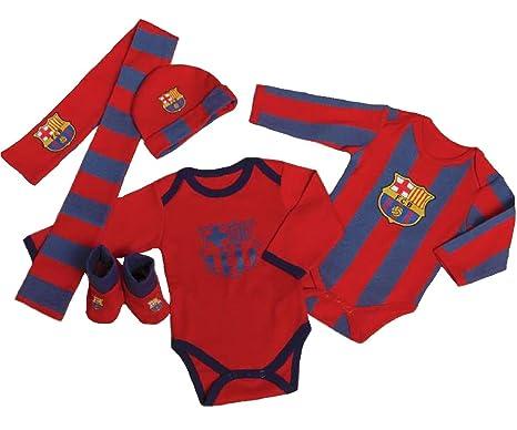3a95e254ccde1 FC Barcelona Pijama Azul Grana Única Bebe  Amazon.es  Ropa y accesorios