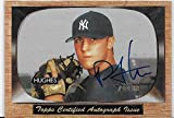 Philip (Phil) Hughes 2004 Bowman Heritage Baseball Autograph Rookie Card #SGA-PH - New York Yankees - Stored in a Protective Plastic Display Case!!
