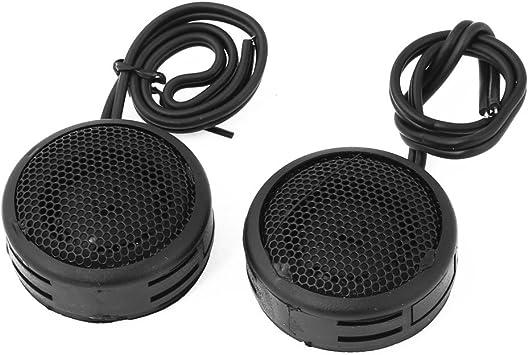 uxcell Car Vehicle Flush Mount Dome Loud Speaker Tweeter Black 150W 2 Pcs