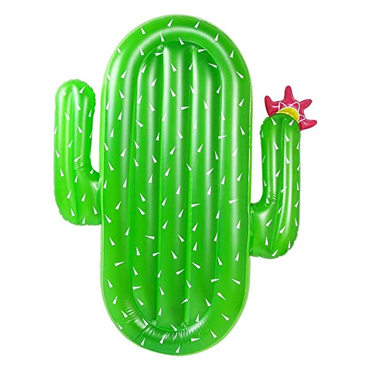 WFZ17 Cama Flotante para natación, Cactus, Inflable, para ...