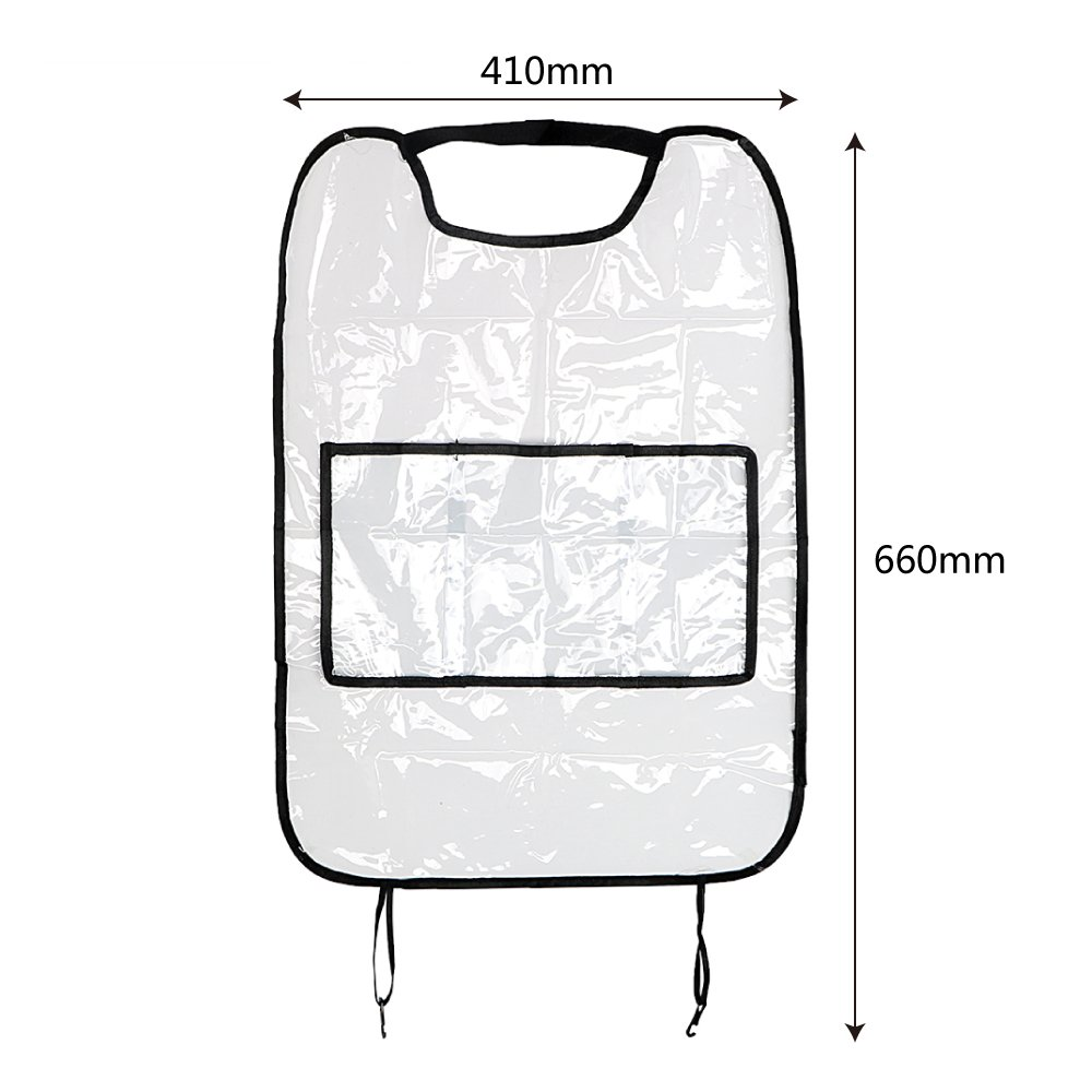 iTimo With Bag Waterproof Travel Organizer Seat Back Protector For Children Kick Mud Mats Car Seat Covers Car Storage Bags