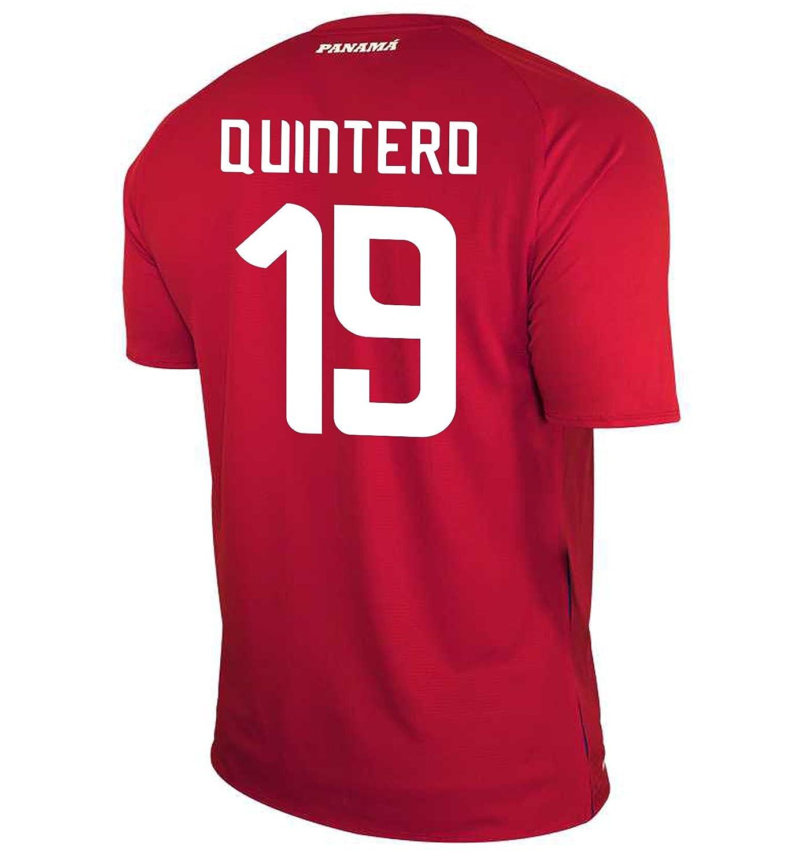 New Balance Men's QUINTERO #19 Panama Home Soccer Jersey FIFA World Cup Russia 2018/サッカーユニフォーム パナマ ホーム用 キンテロ #19 B07D3C4R1Q US Large