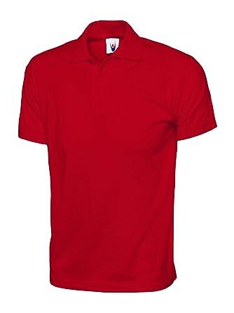 super popular e3f34 05d27 Uneek UC122 - Red - 3XL - 200 GSM - Jersey Polo Shirt XXXL Large