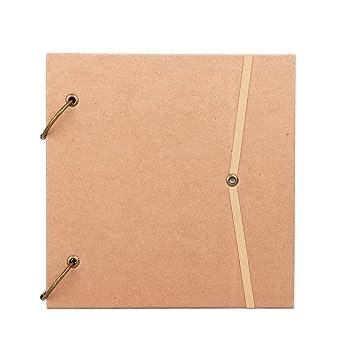 Carpeta de anillas para cuaderno con diario, correa suelta, bloc de notas, dibujo