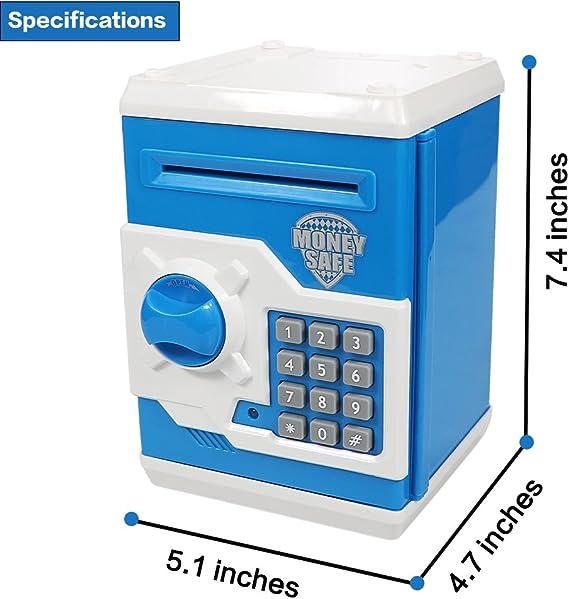 HUSAN Hucha electrónica para niños con código electrónico de ...