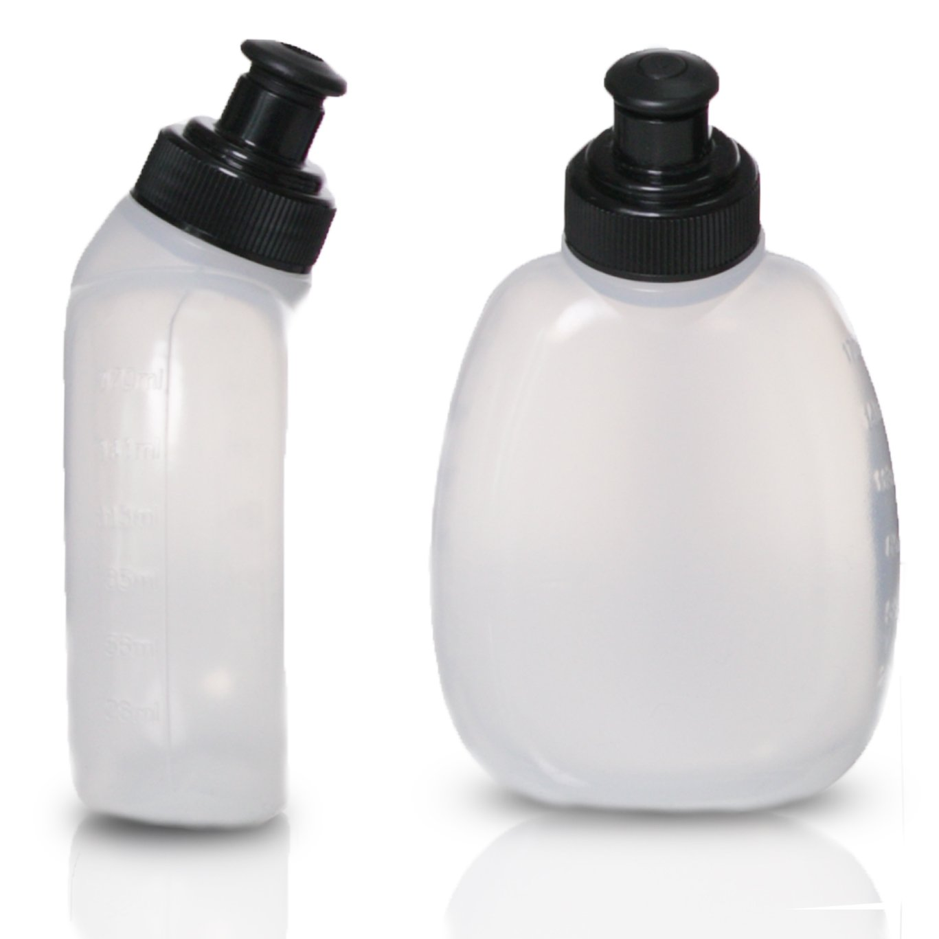 Runtasty 2X 10 oz BPA Free Water Bottles for The Running Hydration Belt w//Touch Screen Cover Full Compatibility with Most Running Fuel Belts and Fanny Packs on The Market!