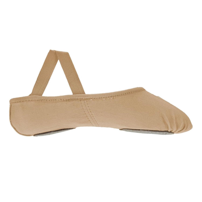 Starlite Flexi Pink Split Sole Sole Leather Ballet Shoes 6.5L d253EW9t