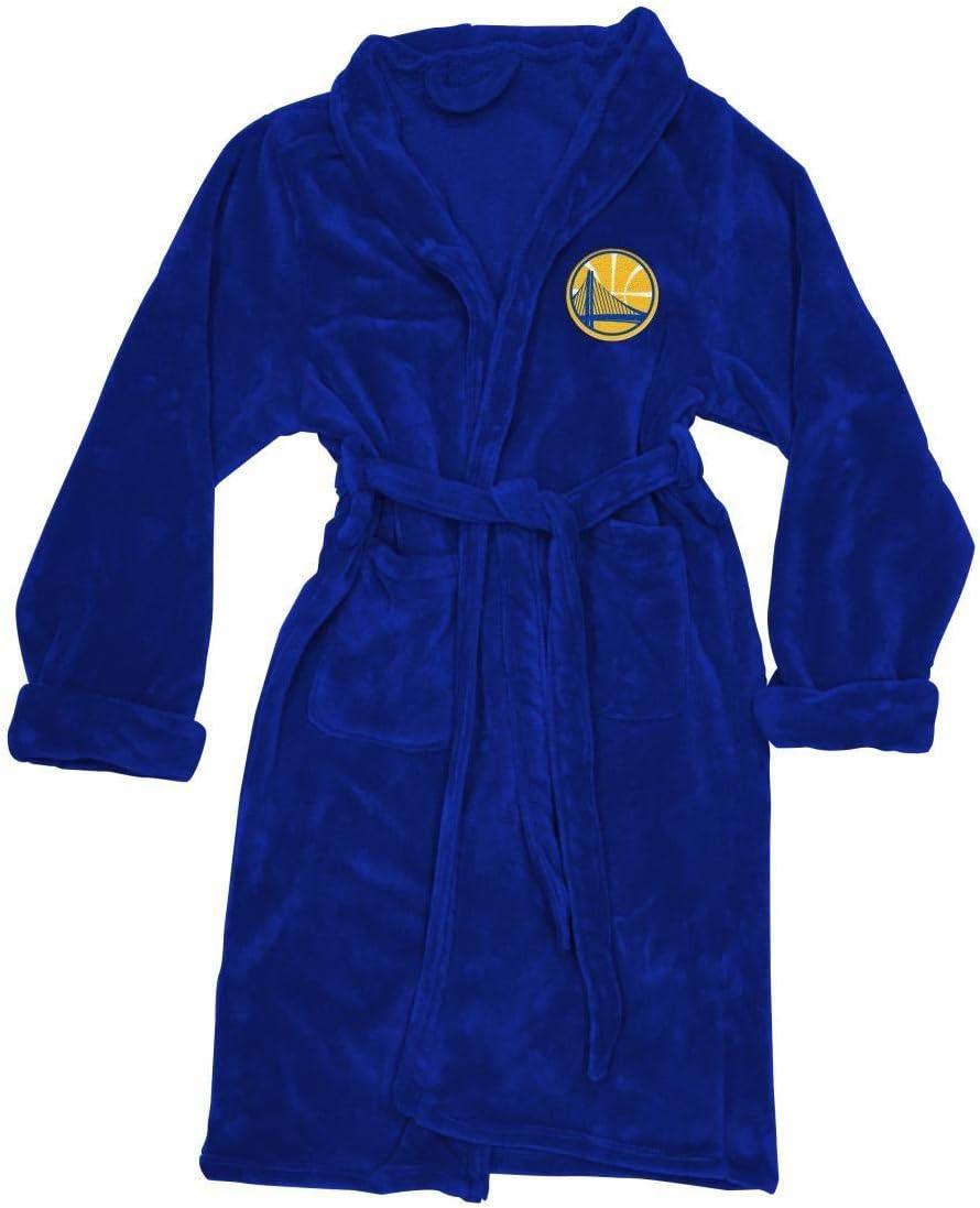 公式ライセンスバスローブ – NBA NBA Golden State Warriorsローブ – Men 's Large / Extra Large