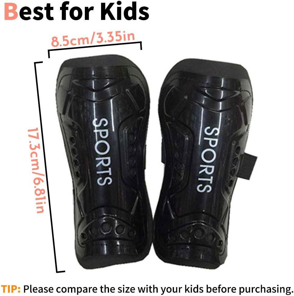 1PAIR SHIN GUARD ADULT KIDS ANTISLIP SOCCER SHIN GUARDS PADS LEGS PROTECTOR FADD