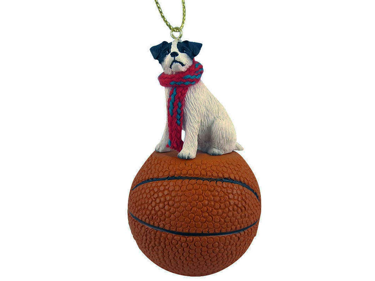 Conversation-Concepts-Jack-Russell-Terrier-Black-White-wRough-Coat-Basketball-Ornament