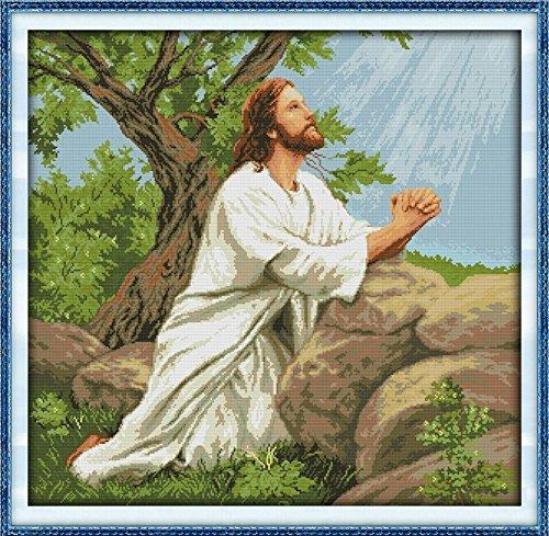 Happy-Forever-Cross-Stitch-Figure-Prayer-of-Jesus