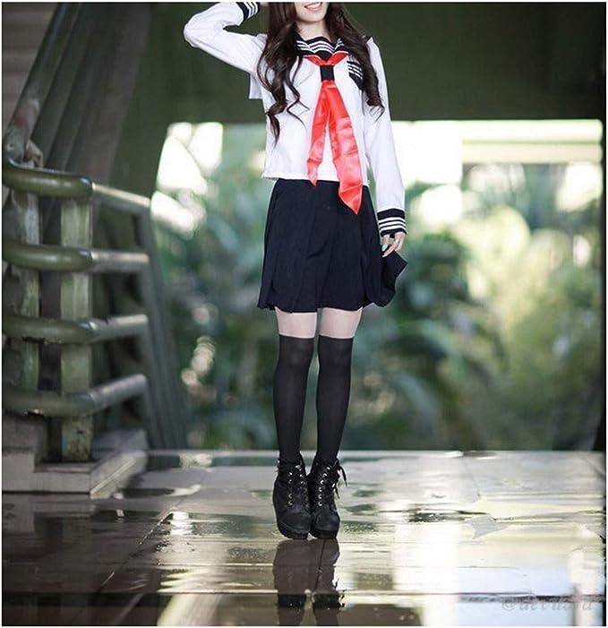 MRxcff-Junior - Uniformes de Escuela Japonesa para niñas - Blanco ...