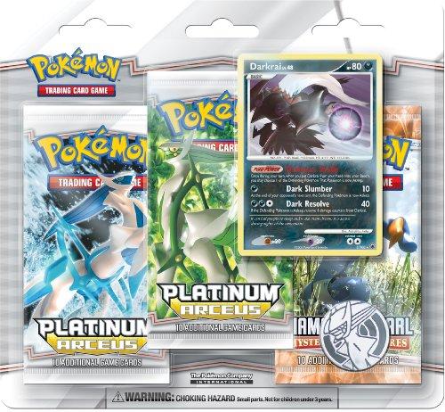 Pokemon PL Platinum Arceus Special Edition Pack (3 Pokemon Packs & 1 Cresselia Holo Rare Card)