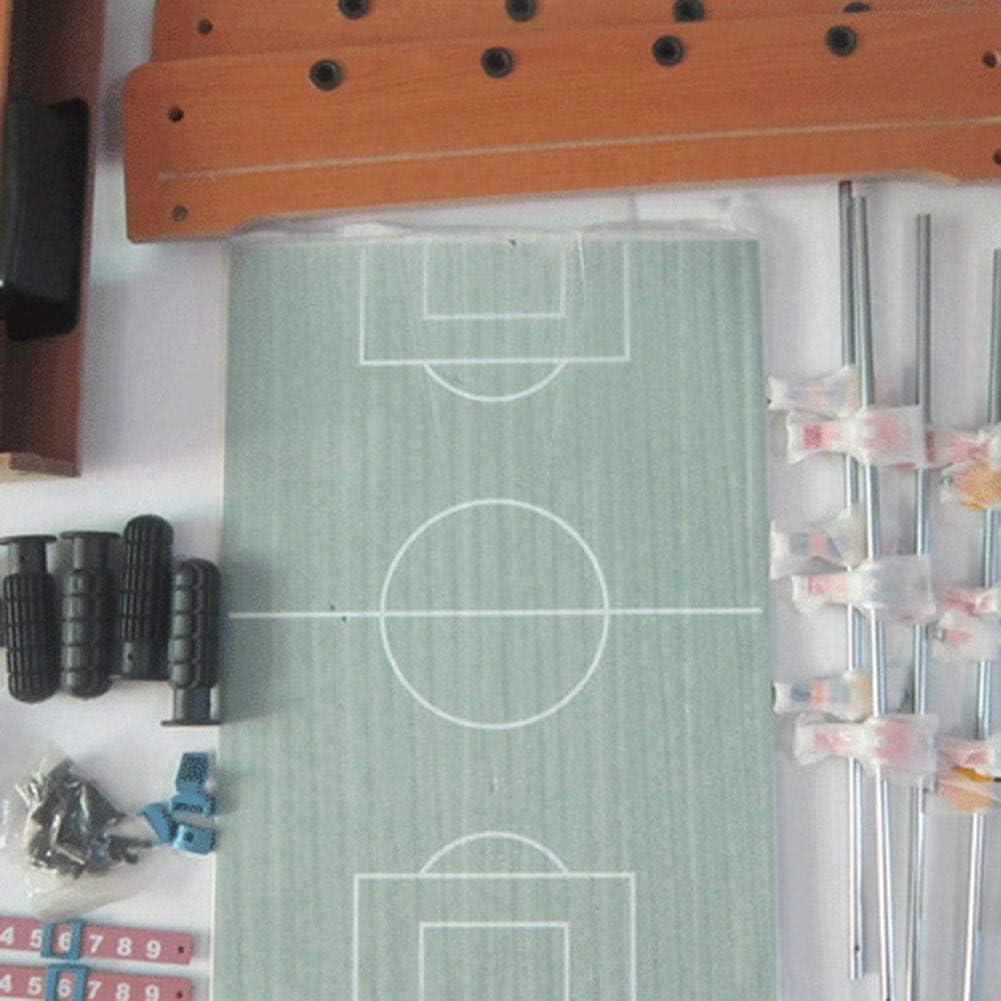 Ablerfly - Mini Rompecabezas de futbolín de Madera para Interiores: Amazon.es: Deportes y aire libre