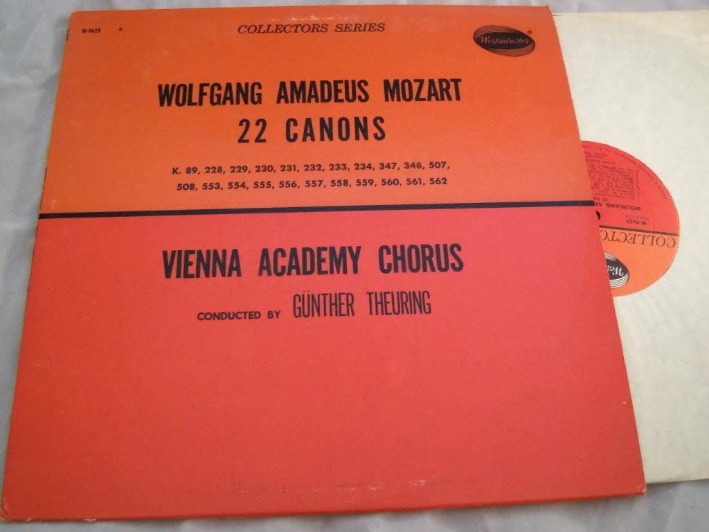 Wolfgang Amadeus Mozart: 22 Canons