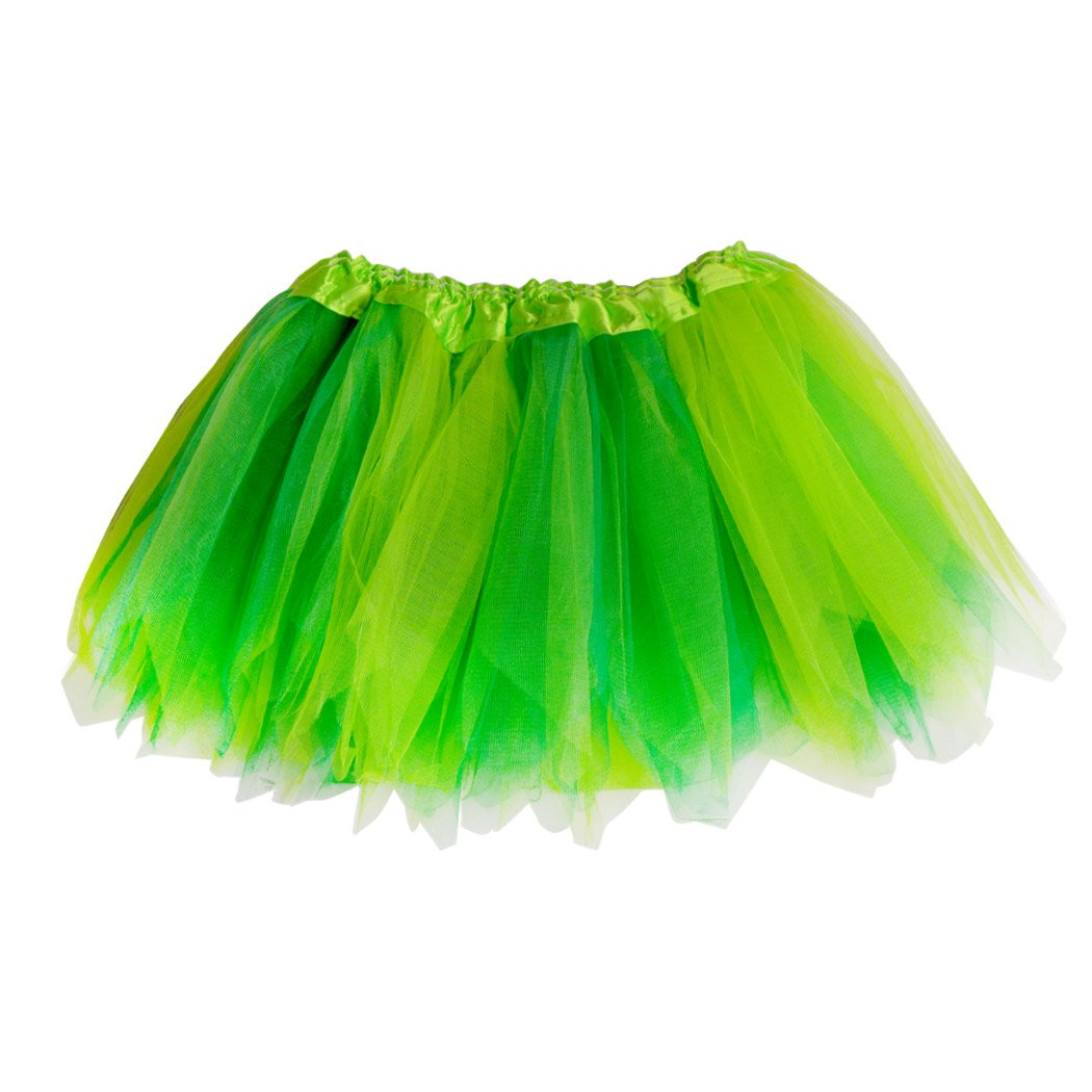 Gone For a Run Runners Premium Tutu Lightweight | One Size Fits Most | Colorful Running Skirts | Fairy Yellow/Green by Gone For a Run