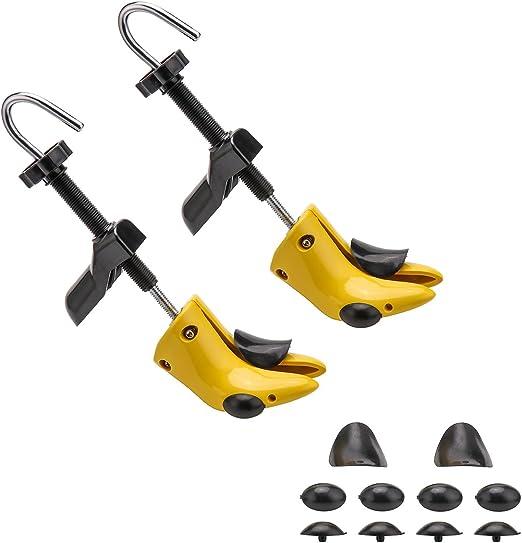 2stk Mini Schuhdehner Schuhspanner Einstellbar Schuhe Breite Extender Expander