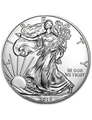 2018 1 Ounce American Silver Eagle .999 Fine Silver with Our Certificate of Authenticity