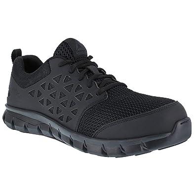 5b564374eb7a0f Amazon.com  Reebok Work Men s Sublite Cushion Work Comp Toe EH  Shoes