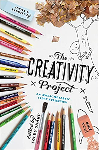 Cover art for the book entitled The Creativity Project