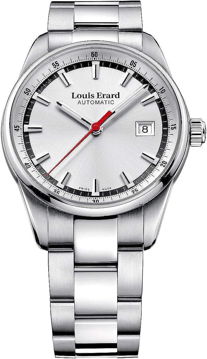 Louis Erard Heritage Collection Swiss automático Plata Dial Hombres Reloj de 69105AA11. BMA19