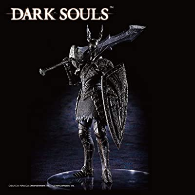 Banpresto - Figurine Dark Souls - Black Knight Sculpt Collection Vol 3 20cm - 3296580824199: Toys & Games