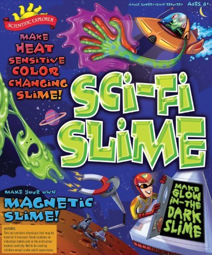 Sci-fi Slime Science Kit - Includes Bonus Pop Toob!