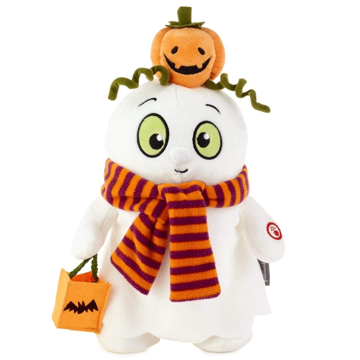 HMK Musical Trick 'n' Treat Ghost Stuffed Animal with Motion by Hallmark
