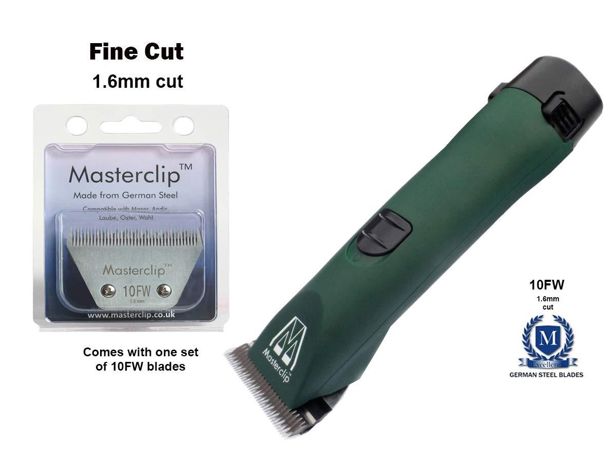 MD Roamer with 1 x fine wide cut blade Masterclip MD Roamer Cordless Horse Clipper (MD Roamer with 1 x fine wide cut blade)