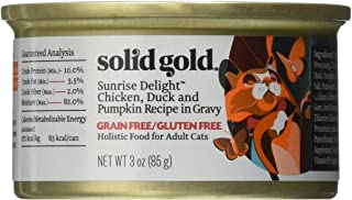 product image for Discontinued By Manufacturer: Solid Gold Sunrise Delight Wet Cat Food, 3Oz 12 Count