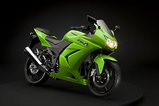 Tazas-N-más motoqueros taza con Kawasaki Ninja 250R: Amazon ...
