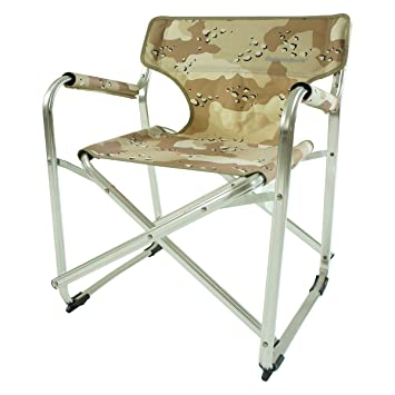 OnwaySports Kids Director Chair In Aluminum Frame Lightweight Foldable  Portable For Camping In Camouflage