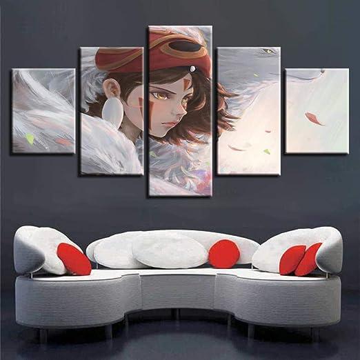 WEPAINT Lienzo Arte de la Pared HD Imprime Fotos Marco 5 ...