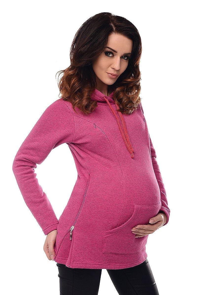 Purpless Maternity 2in1 Maternidad y Enfermer/ía Sudadera con Capucha y Bolsillo 9050