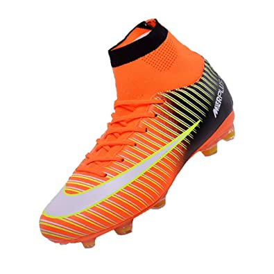 new style cd96e 5ef7d Sunny Holiday Enfants Chaussures de Football garçons Astro Turf Filles FG  AG SG 4 G TF