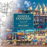 img - for Dowdle Doodles - Adult and Family Coloring Book - USA and World Beaches book / textbook / text book