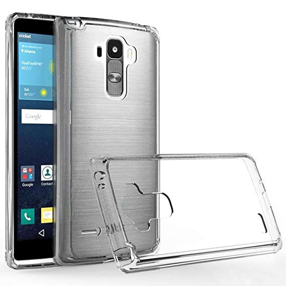 best cheap 28882 1d7dc LG G Stylo case, LG LS770 case,LG G4 Stylus case,LG G Stylo H631 case,LG G  Stylo MS631 case, Wtiaw Acrylic Hard Cover with Rubber TPU Bumper Hybrid ...