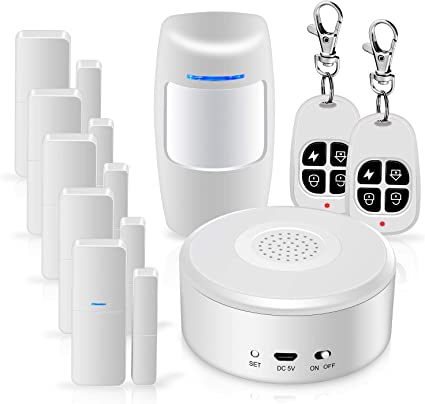 WiFi Alarm System Kit Smart Security System D