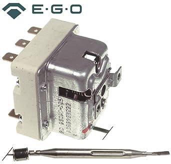 Mareno Seguridad Termostato EGO Tipo 55.32546.801 para fritura