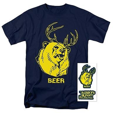 Amazon Com It S Always Sunny In Philadelphia Beer T Shirt Clothing