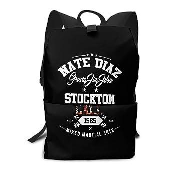a9c664958499 Amazon.com   Backpack, Travel Hiking Nate Diaz MMA UFC Stockton ...