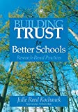 img - for Building Trust for Better Schools: Research-Based Practices book / textbook / text book