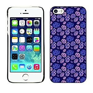 PatternViking PC Polycarbonate Aluminium Back Case Cover Apple iPhone 5 / 5S ( cute circles )